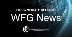 "WFG Lender Services Announces ""Five-Second"" Title Report"