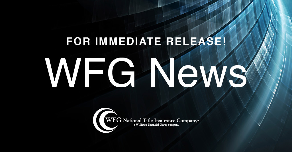 WFG NATIONAL TITLE INSURANCE COMPANY APPOINTS  JANELLE ROSENBAUM AND CHRIS PEUGEOT  AS AGENCY VP AREA SALES MANAGERS