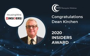 Dean Kirchen honored as one of HousingWire's '50 Insiders' for 2020