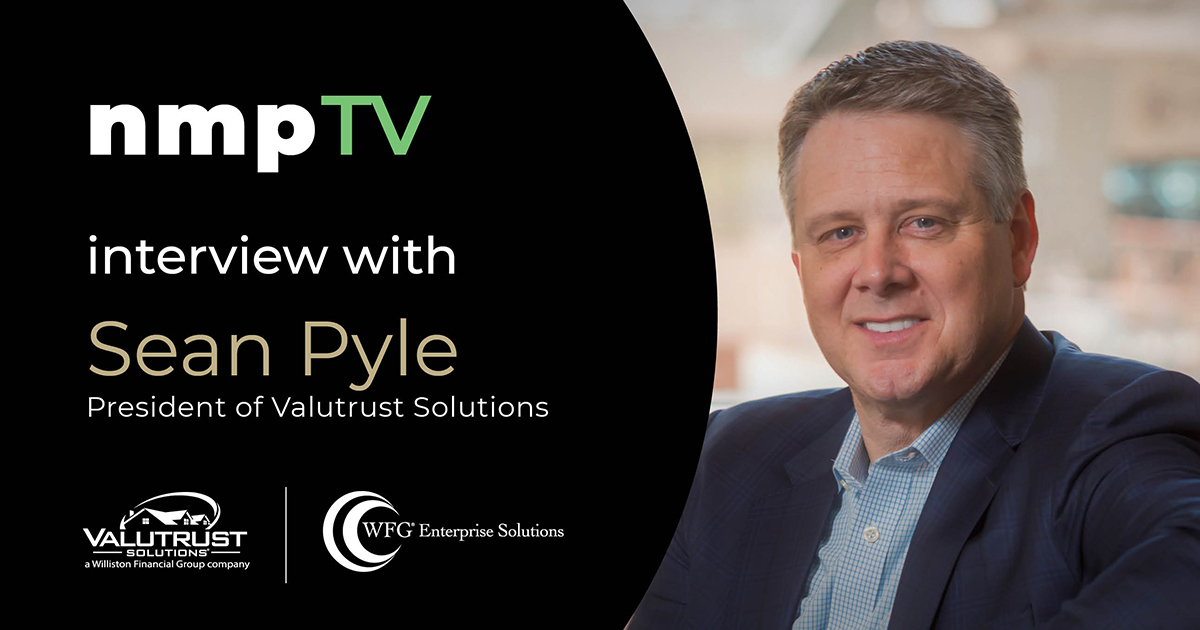 Valutrust Solutions President Sean Pyle introduces ValuTrue™ property evaluation services in an exclusive interview with NMP-TV's Andrew Berman